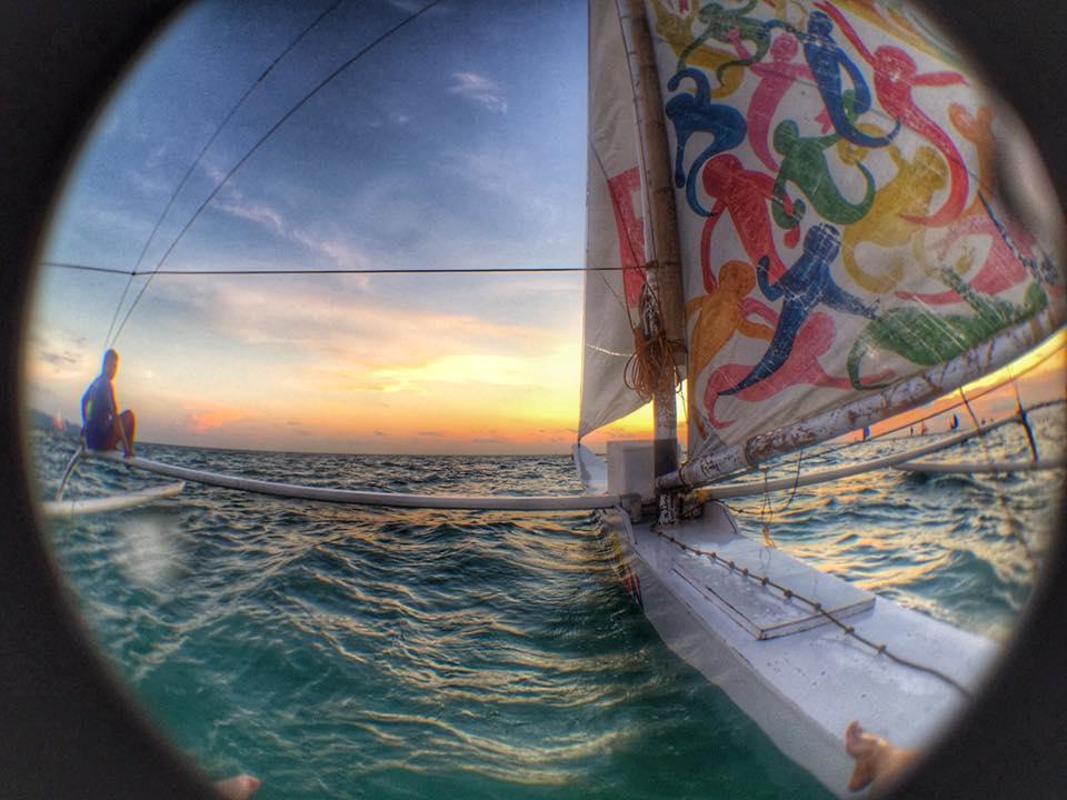 Ztylus fisheye paraw view