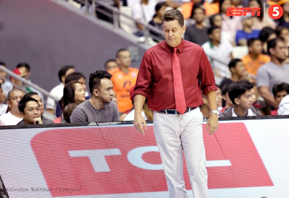 _S1A2244 Tim Cone is not happy with a play