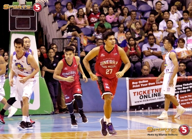 _S1A7356 Super-subs Jervy Cruz and Aljon Mariano run back on defense