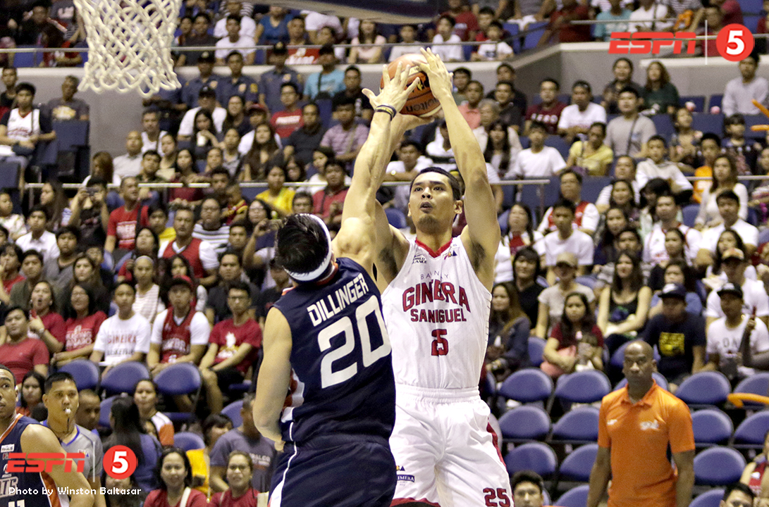_S1A8572 Ginebra's Japeth Aguilar scored 16 points, together with 8 rebounds