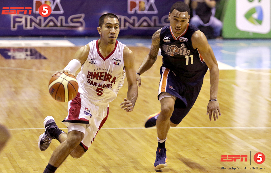 _S1A8730 Former Ateneans LA Tenorio and Chris Newsome on the different sides now
