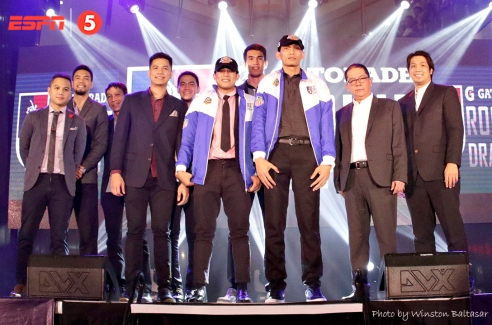 _S1A4876 Mac Tallo and Jon Gabriel are drafted in the first round by TNT