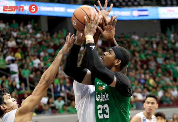 Ben Mbala was double-teamed every time he held the ball.