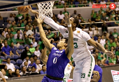 """Ben Mbala says, """"Not in my house."""""""