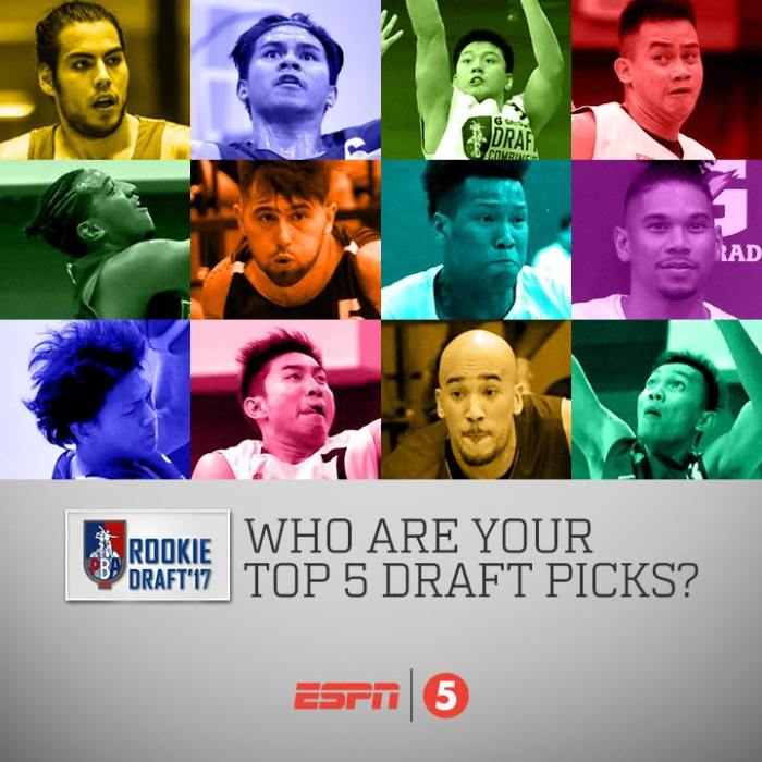 Who are your top 5 draft picks