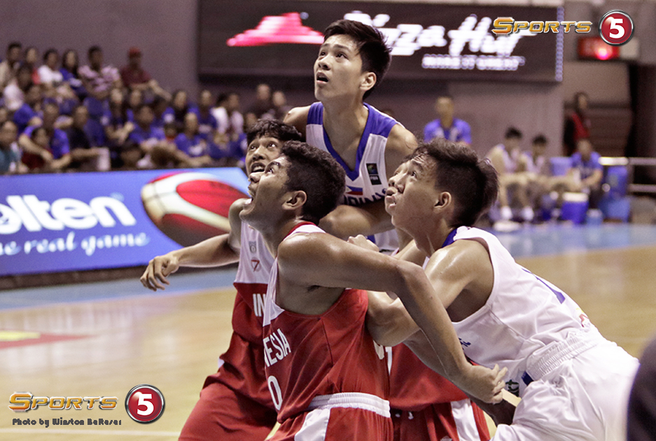 _S1A3635 Gilas Cadets' Kai Sotto is head and shoulders above his peers